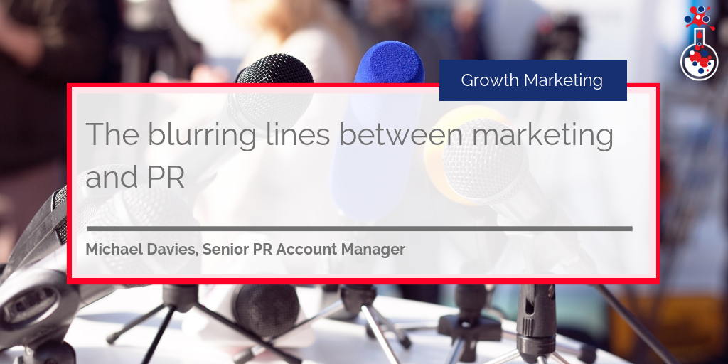Blurring lines between marketing and PR blog image