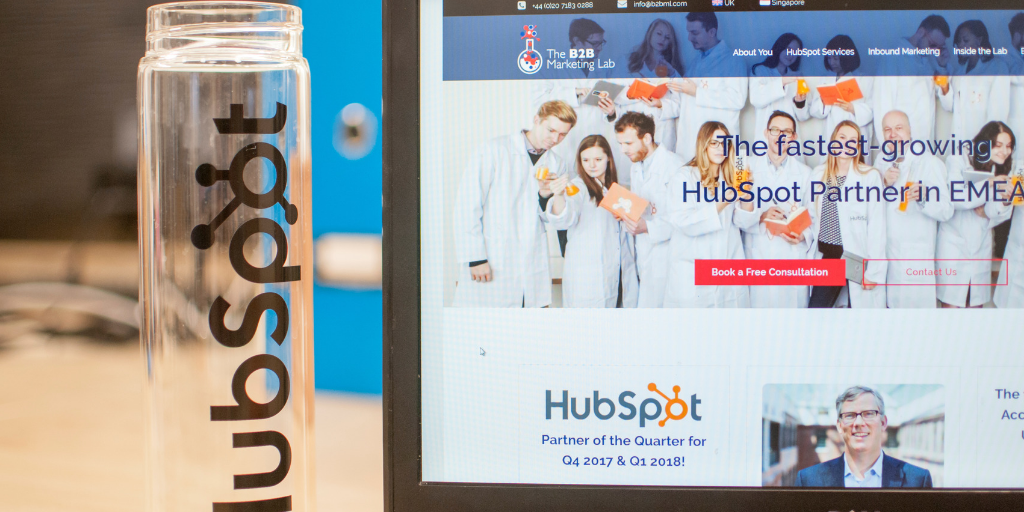 HubSpot Website Migration Featured Image