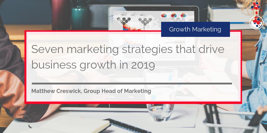 Seven marketing strategies blog image