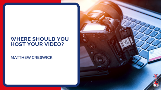 Where should you host your video blog image